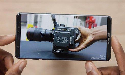 Ảnh Galaxy S8 với màn hình viền siêu mỏng
