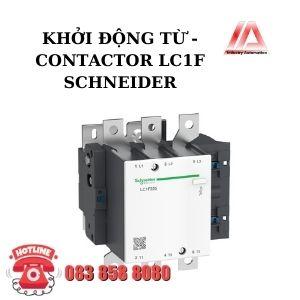 KHỞI ĐỘNG TỪ - CONTACTOR LC1F SCHNEIDER