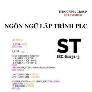 NGÔN NGỮ LẬP TRÌNH PLC ST/ STL (STRUCTURED TEXT)