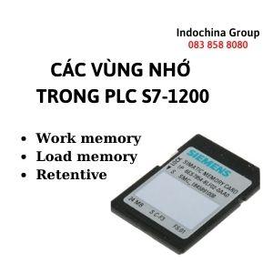 CÁC VÙNG NHỚ TRONG PLC S7-1200