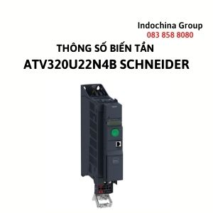 THÔNG SỐ BIẾN TẦN ATV320U22N4B SCHNEIDER