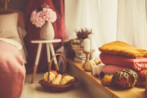Mang cả mùa thu về phòng ngủ nhà bạn