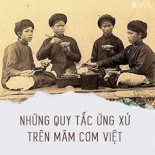 Những quy tắc trên mâm cơm người Việt