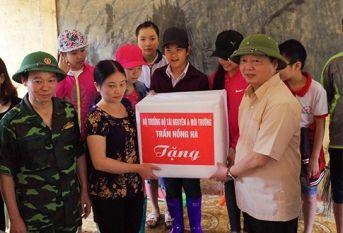 Bộ trưởng Trần Hồng Hà: Không để bùng phát dịch bệnh do ô nhiễm môi trường sau bão