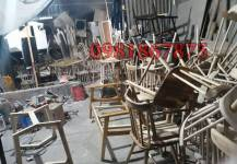 Địa chỉ bán bàn ghế chân sắt mặt gỗ tại Hà Nội