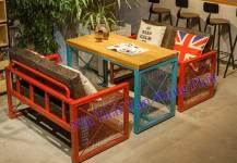 Một số mẫu bàn ghế sofa cho quán cafe thêm độc đáo