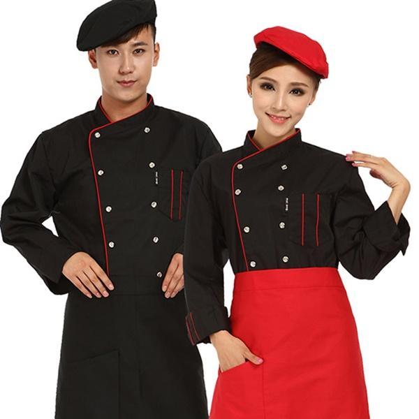Đơn vị may đồng phục cho đầu bếp chuyên nghiệp, kiểu mới