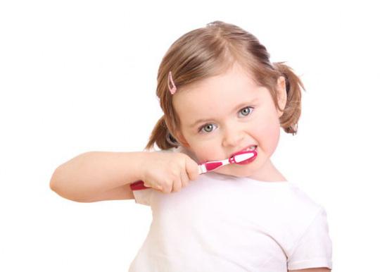 Chăm sóc hệ răng sữa