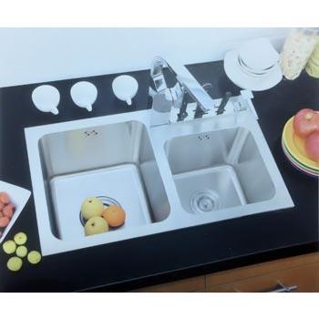 Chậu rửa bát Hàn Quốc ERIS- 06 (inox 304)