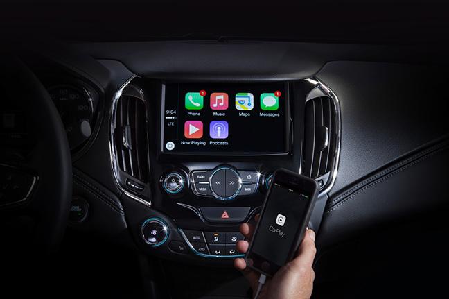 Chevrolet trang bị Android Auto và Apple CarPlay trên 14 mẫu xe