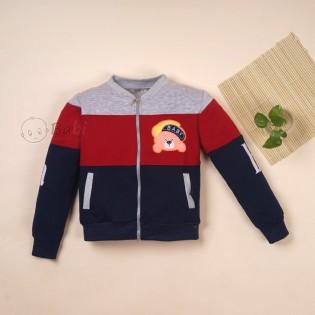 Áo khoác phối màu cực cool cho bé trai size nhí