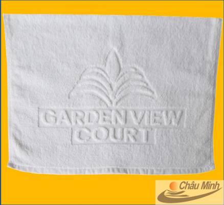Khăn dệt logo Garden View Court