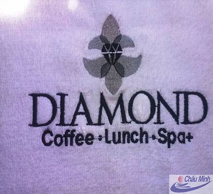 Khăn thêu Diamond Spa