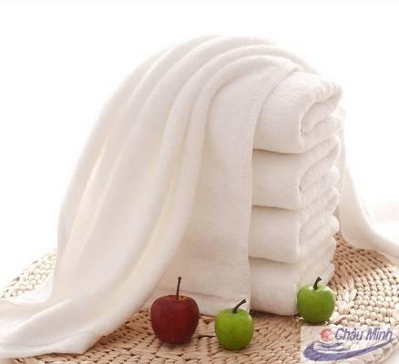 Khăn trải giường cotton 100x200cm 900gr dùng cho spa