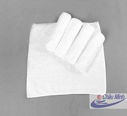 Khăn tay Cotton 30x30cm 36gram dùng trong Khách sạn