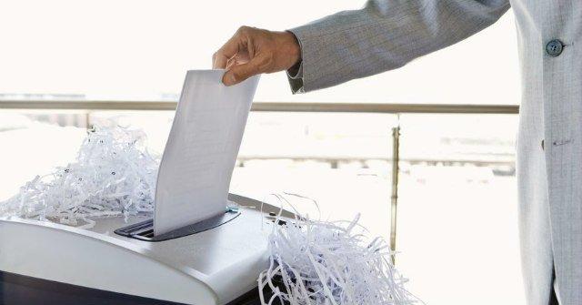 Những điều cần biết về máy hủy tài liệu văn phòng