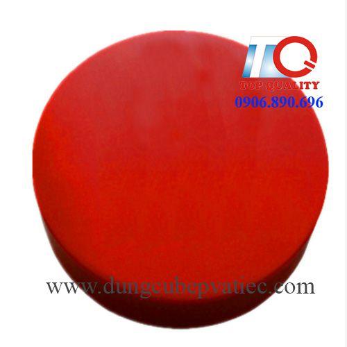 thớt nhựa công nghiệp tròn màu đỏ tại tphcm