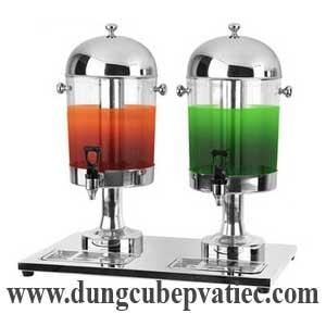 bình nước trái cây đôi, binh giu lanh nuoc trai cay doi, bình giữ lạnh nước hoa quả 2 bình, bình giữ lạnh nước trái cây 2 bình, juice dispenser 2 tank