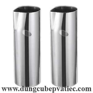 bình inox rót bia, bình inox ống không tay cầm, bình inox ống, bình inox rót bia hình ống