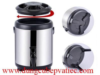 bình ủ trà, bình trà sữa 8l, bình inox giữ nhiệt, bình giữ nóng trà sữa, bình ủ 8l