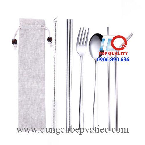bộ muỗng nĩa ăn mang theo