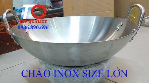 bán chảo inox 304 công nghiệp, bán chảo inox sâu lòng, bán chảo inox cỡ lớn, bán chảo inox loại lớn