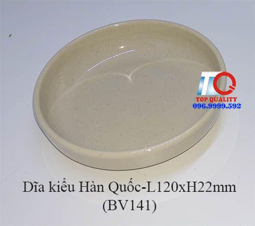 dĩa nhựa melamine