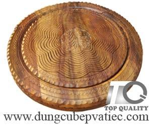 giỏ đựng trái cây tết bằng gỗ sheesham