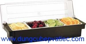 hộp đựng nhiều ngăn, hộp đựng trái cây, hộp nhiều ngăn có nắp, hộp đựng trái cây quầy sinh tố, hộp lưu trữ nhiều ngăn