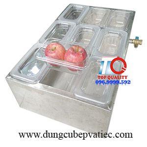 hộp giữ lạnh topping tại cà mau