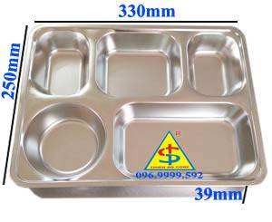 khay cơm inox 304 nắp nhựa tại cần thơ