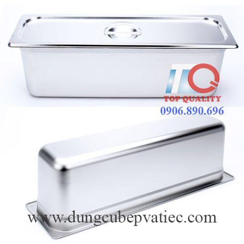 bán khay inox 2/4, cung cấp khay 2/4, khay inox GN 2/4 tại tphcm