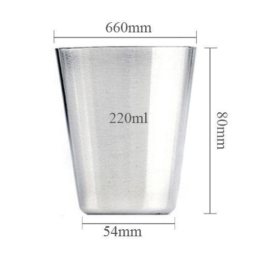 Ca cốc inox uống nước, ca inox mẫu giáo, ca uống nước học sinh, ca inox uống nước