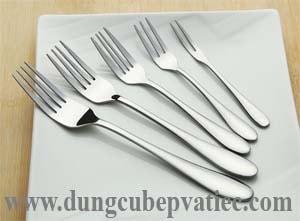 nĩa inox loại lớn - dĩa inox cán dài, nơi bán nĩa inox loại lớn giá rẻ nhất, nĩa inox cán dài nhất, bo muong thia dia inox gia re