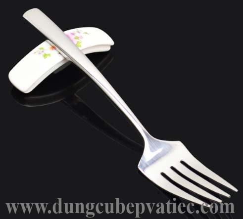 nĩa inox size lớn - dĩa inox cán dài size lớn, nơi bán nĩa inox size lớn giá rẻ nhất, nĩa inox cán dài nhất, bo muong thia dia inox gia re