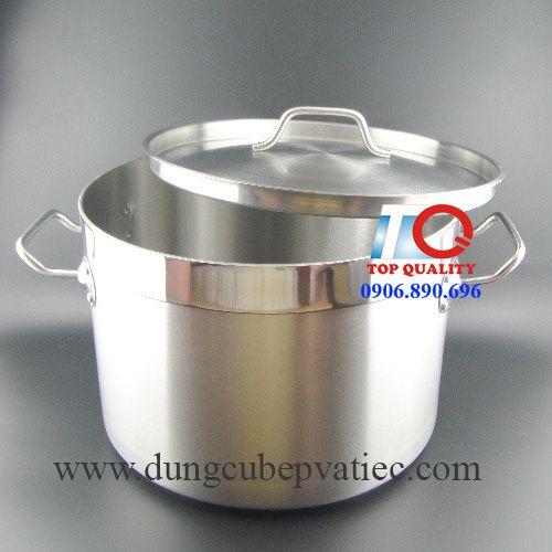 nồi inox 3 đáy 17 lít nấu cháo soup