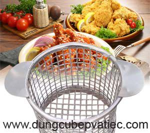 Rọ giỏ French Fries tròn, french fry basket