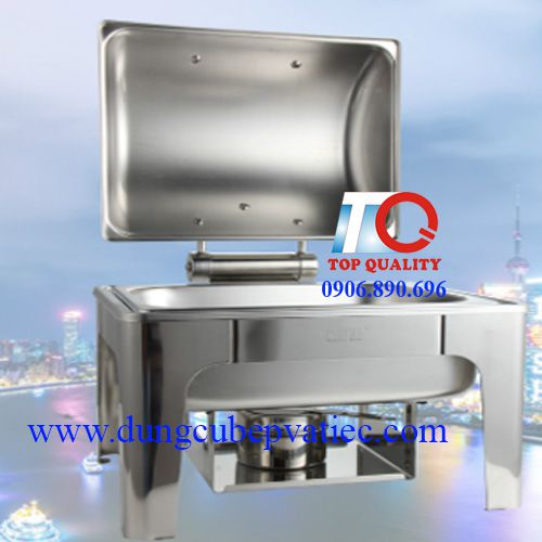 stainless steel rectangle chafing dish at ho chi minh city