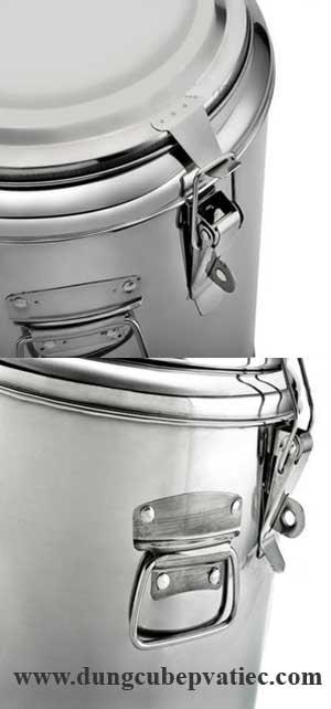 thùng inox 80 lít, thung inox giu nhiet 80 lit, binh-inox-giu-nhiet, bình giữ nóng cơm canh, thung inox cach nhiet 80L