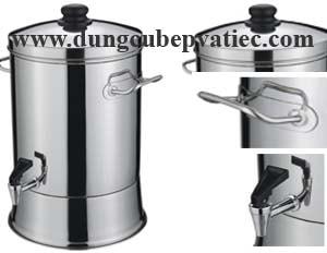 thùng inox 35 lít, thùng đựng nước inox có vòi, thung-inox, thùng inox đựng nước, thùng inox công nghiệp