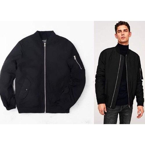 áo khoác đen big size