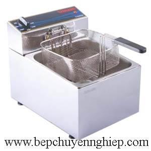 bếp chiên điện đơn 12 lít, máy chiên 12 lít