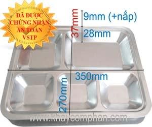khay-an-inox-5-ngan-co-nap, khay an inox 5 ngan co nap, khay ăn inox 5 ngăn có nắp, khay ăn 5 ngăn có nắp, mua khay ăn inox giá rẻ ở đâu