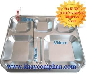 khay-com-inox-co-nap, khay cơm inox có nắp, khay cơm inox 304 có nắp, khay cơm inox việt nam, khay inox sản xuất tại việt nam