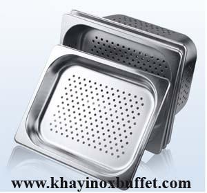 khay inox GN 1/2 có lổ giá rẻ tại TPHCM, khay inox có lổ giá rẻ