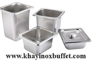 khay inox GN 1/6, khay GN 1/6, khay GN 1/6 inox, gastronorm pan sizes 1/6, khay GN 1/6 giá rẻ tại tphcm