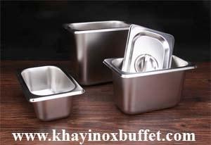 khay inox GN 1/9, khay GN 1/9, cong inox 1/9, khay Gn 1/9 inox, gastronorm pan sizes 1/9 at ho chi minh city