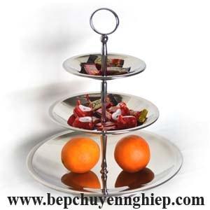 khay trang trí buffet, khay inox trang trí trái cây, khay inox bày trái cây, khay inox trang trí buffet, khay inox 3 tầng hàn quốc