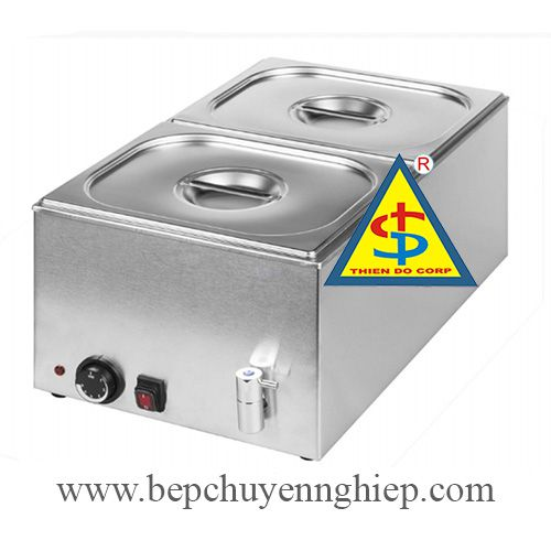 table top bain marie, bain-marie, Bain Marie with Mechanical Controller and Drain 8710