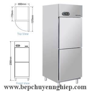 Tủ mát 2 cánh công nghiệp, tu mat cong nghiep 2 canh, tủ lạnh 2 cánh loại lớn, tủ lạnh lớn 2 cánh, tủ mát lớn 2 cánh